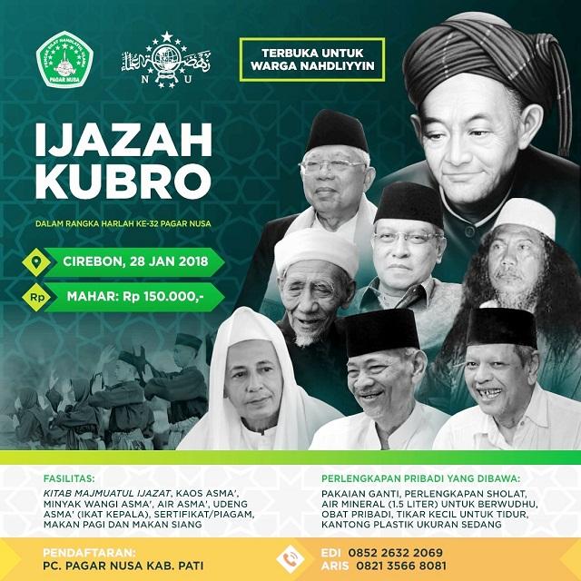 Pengisian Massal Pagar Nusa Gelar Ijazah Kubro Kuati