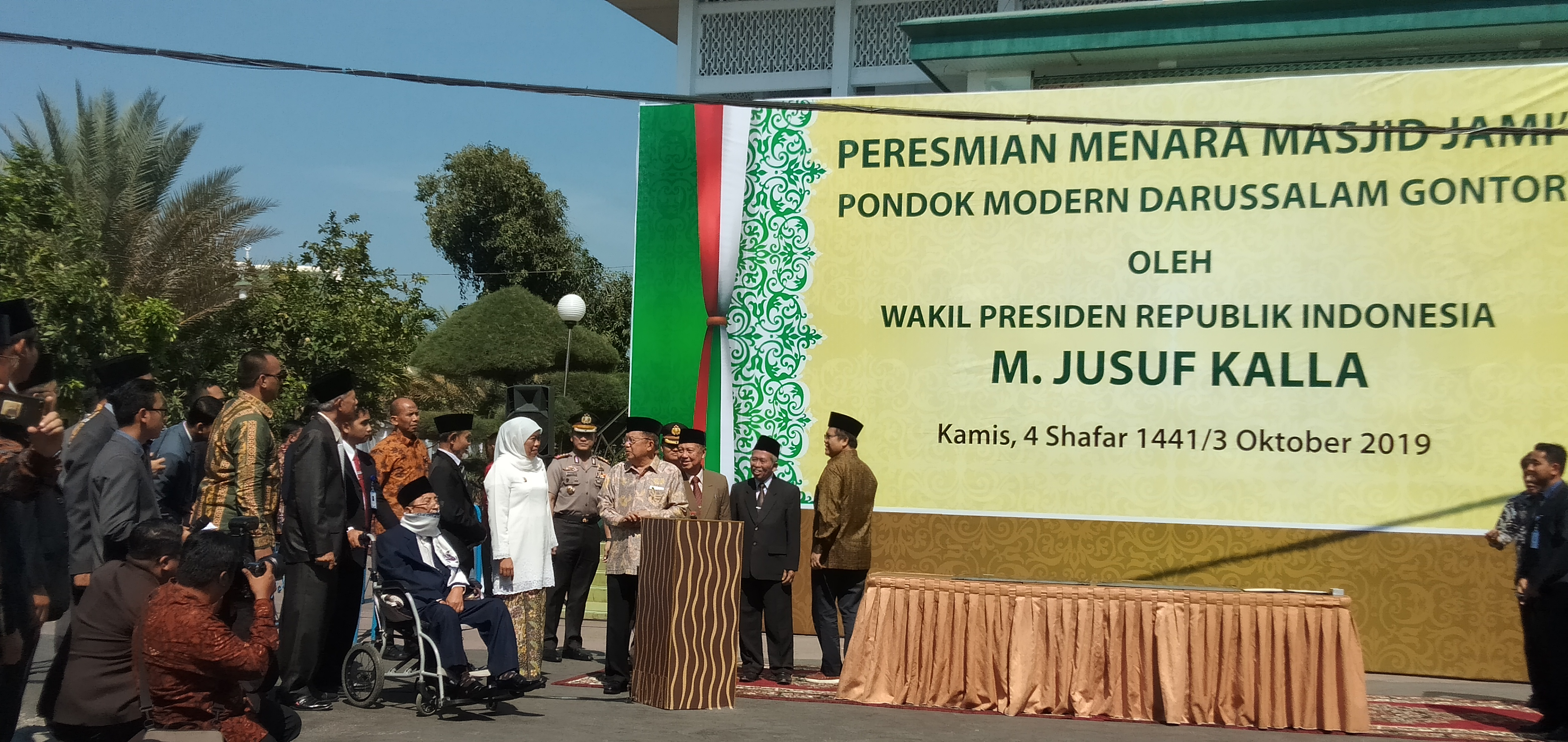 Jk Wakafkan Gedung Rp 11 M Gontor Nkri Sampai Mati Duta Co